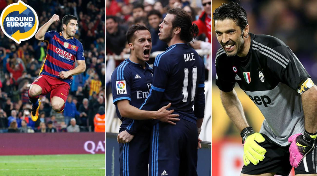 Luis Suarez, Gareth Bale, Gianluigi Buffon star for their clubs