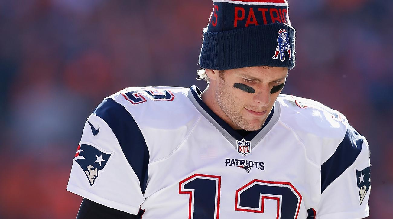Brady again is staring at a four-game suspension.