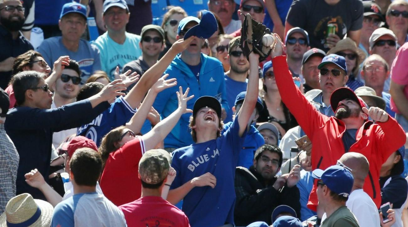 Toronto Blue Jays does not want A's home run ball