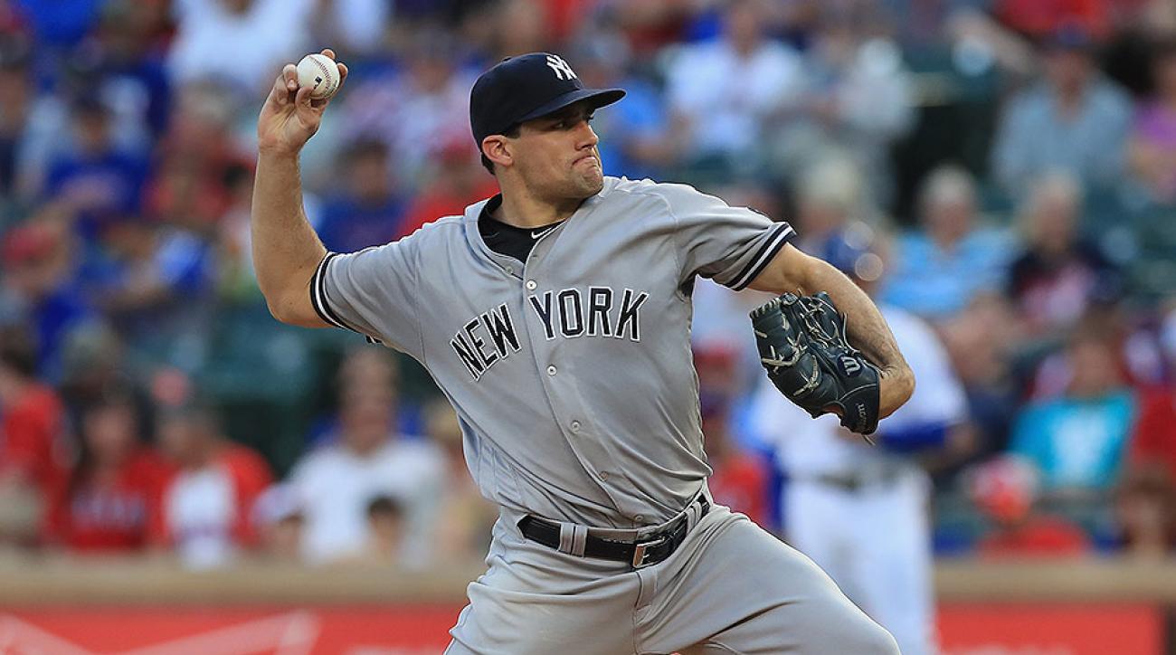 New York Yankees Nathan Eovaldi