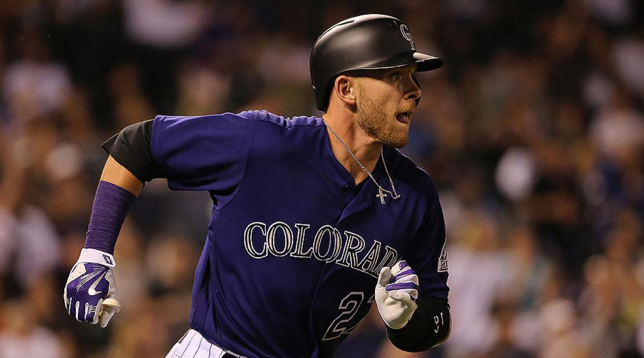 Colorado Rockies Trevor Story