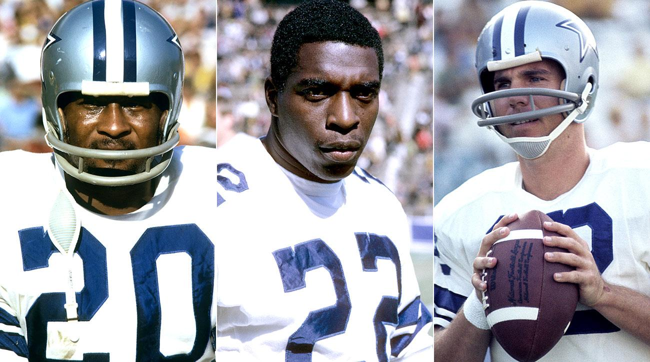Mel Renfro in the second, Bob Hayes in the seventh, Roger Staubach in the 10th: Dallas's Hall of Fame haul in '64.