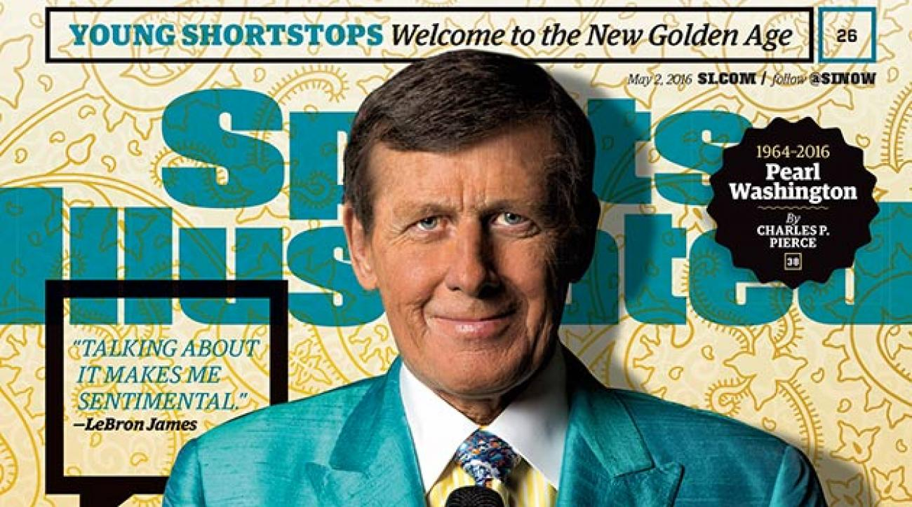 Craig Sager on cover of Sports Illustrated