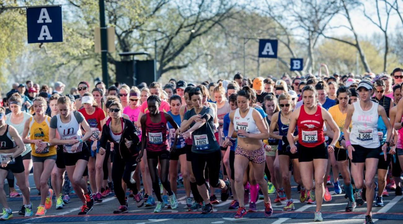 Child runs half-marathon by accident