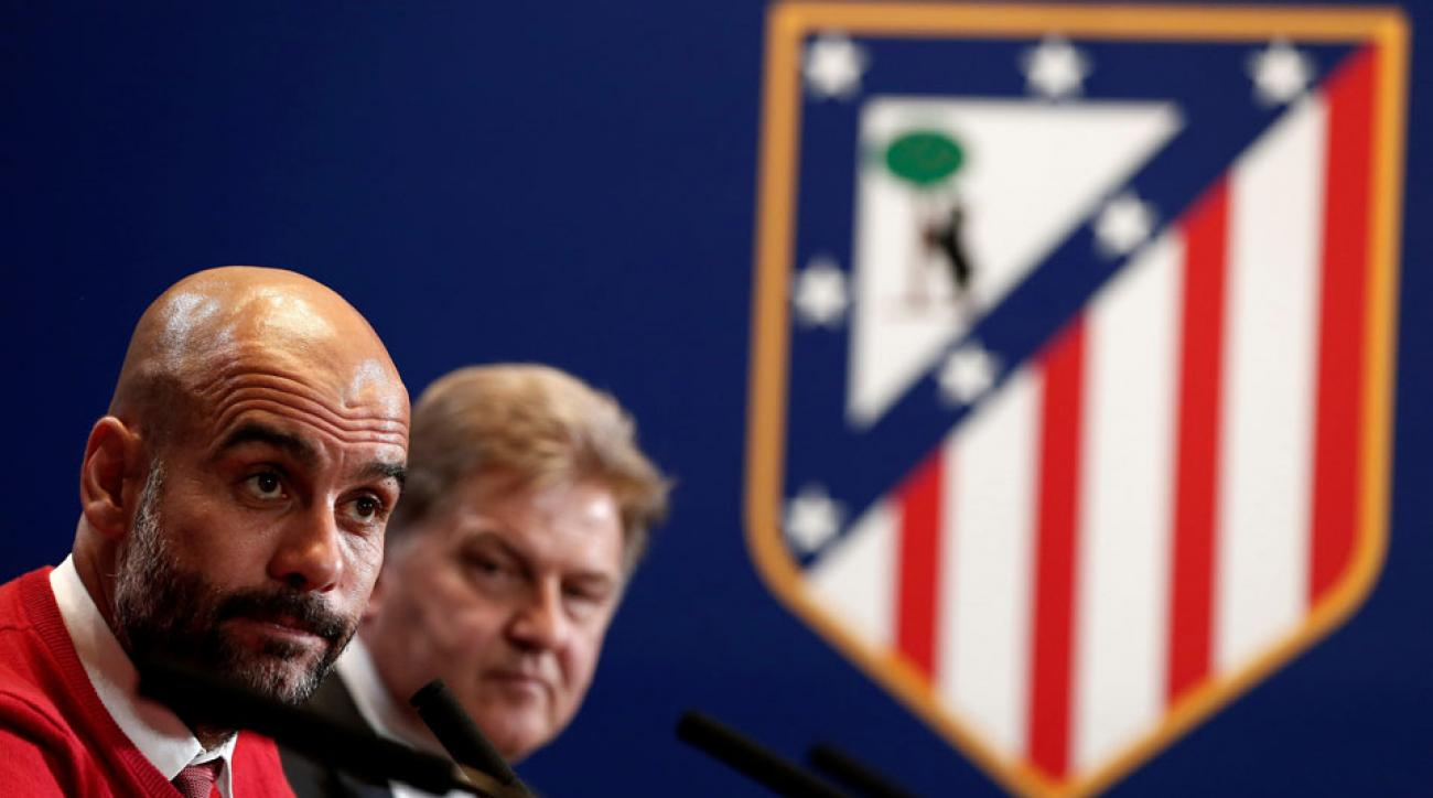 Pep Guardiola and Bayern Munich face Atletico Madrid in Champions League