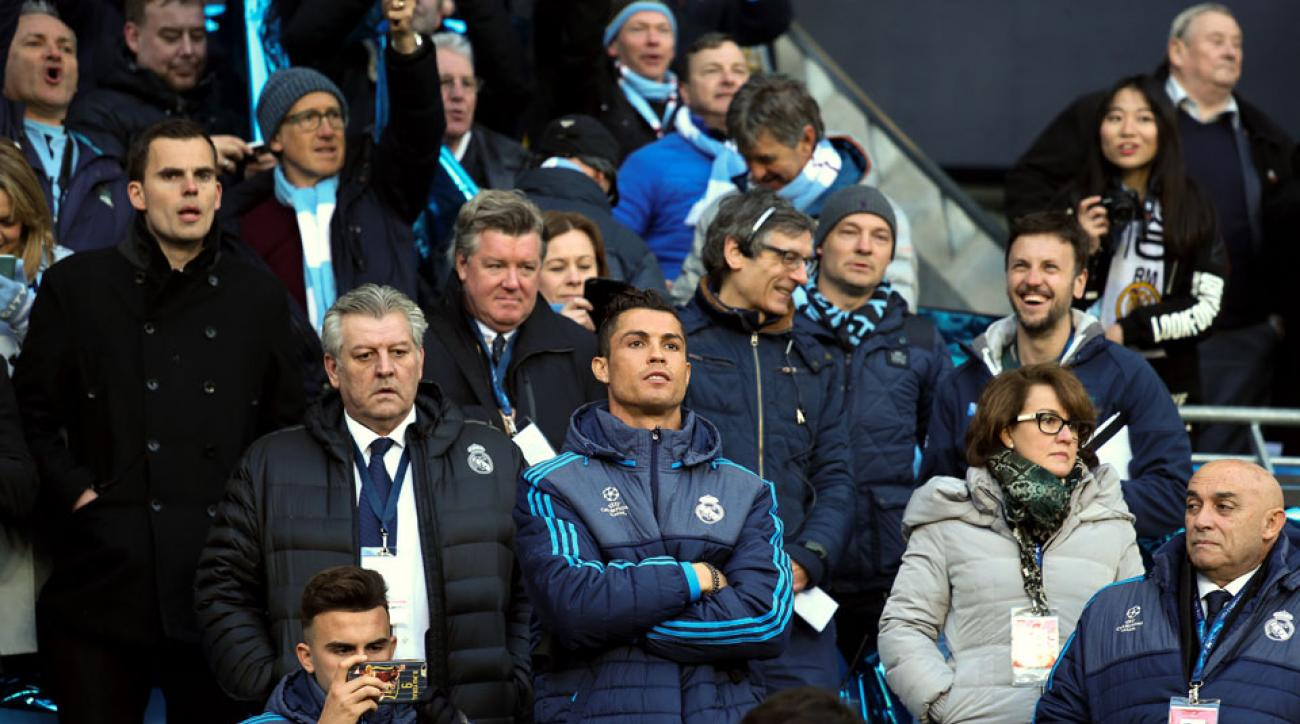 Cristiano Ronaldo's Champions League status remains unclear for Real Madrid