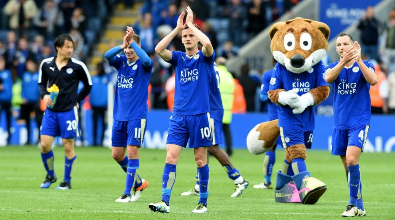 Leicester City fan cashed out of Premier League title bet after one game