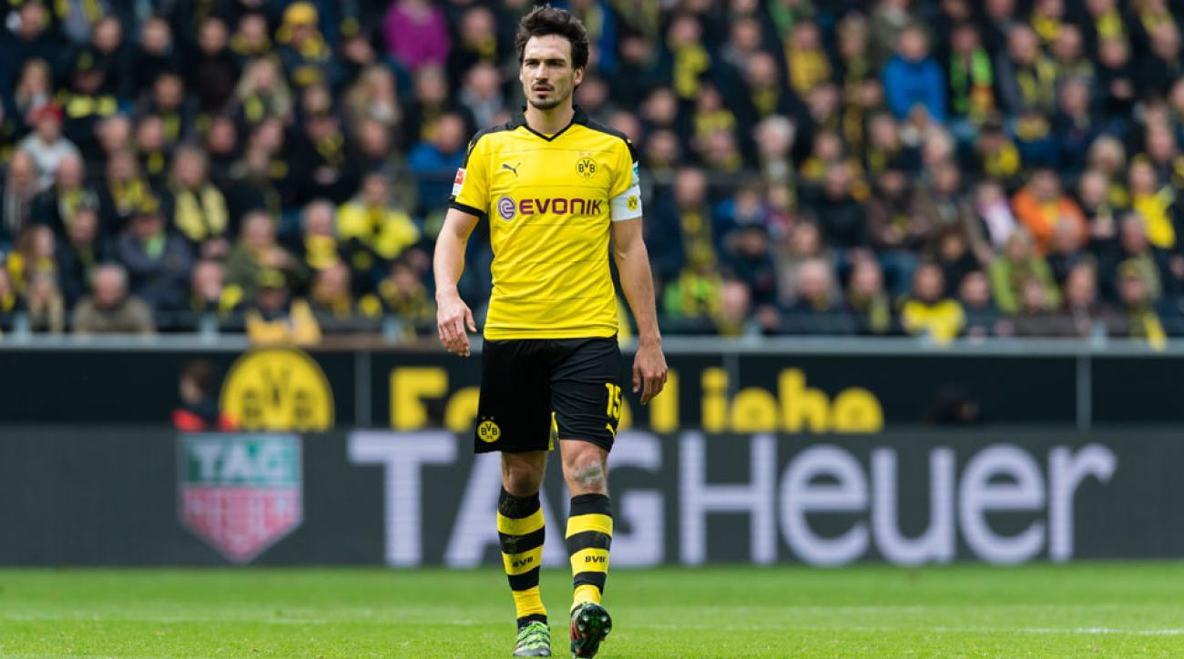 Dortmund's Mats Hummels wants a move to Bayern Munich
