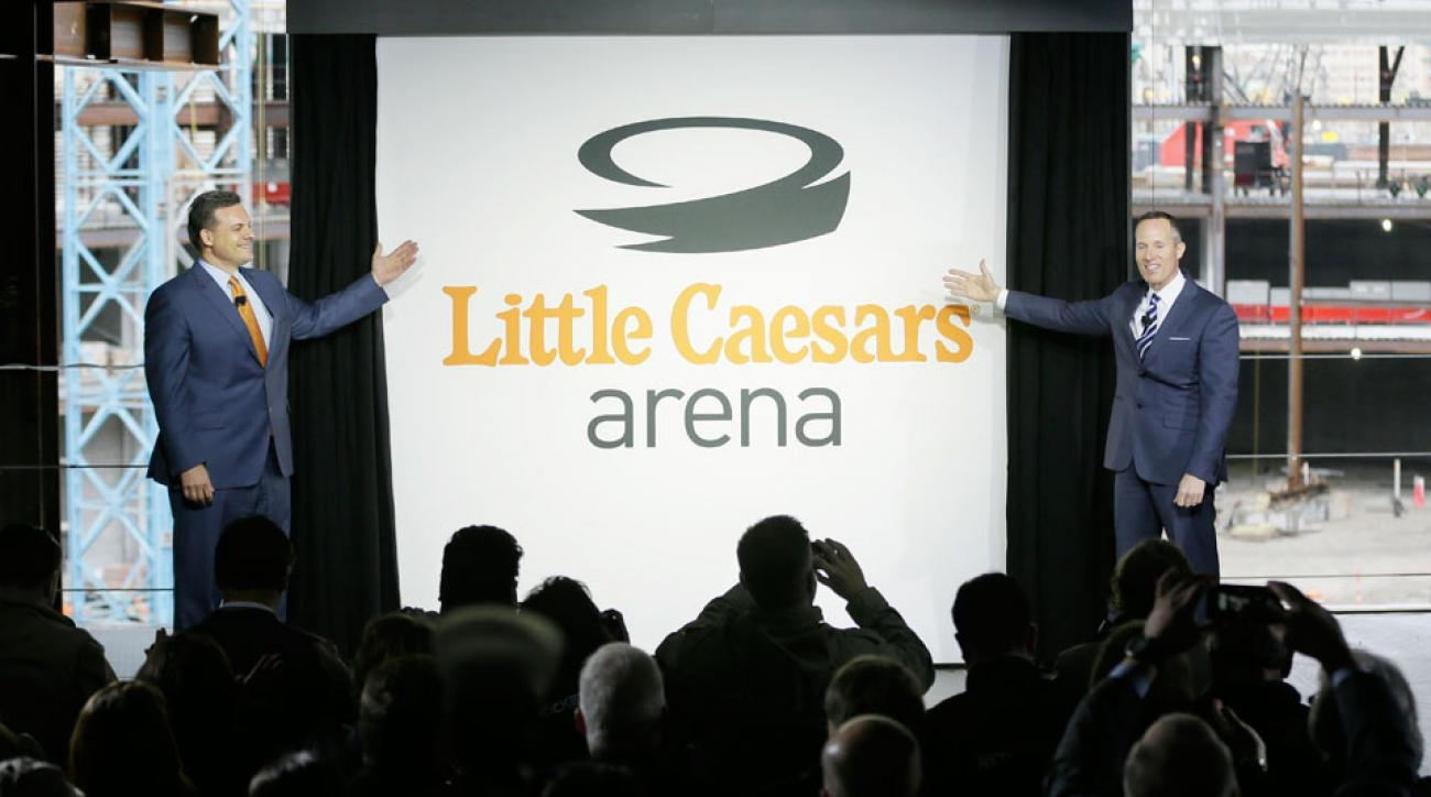 red wings little caesars arena announcement