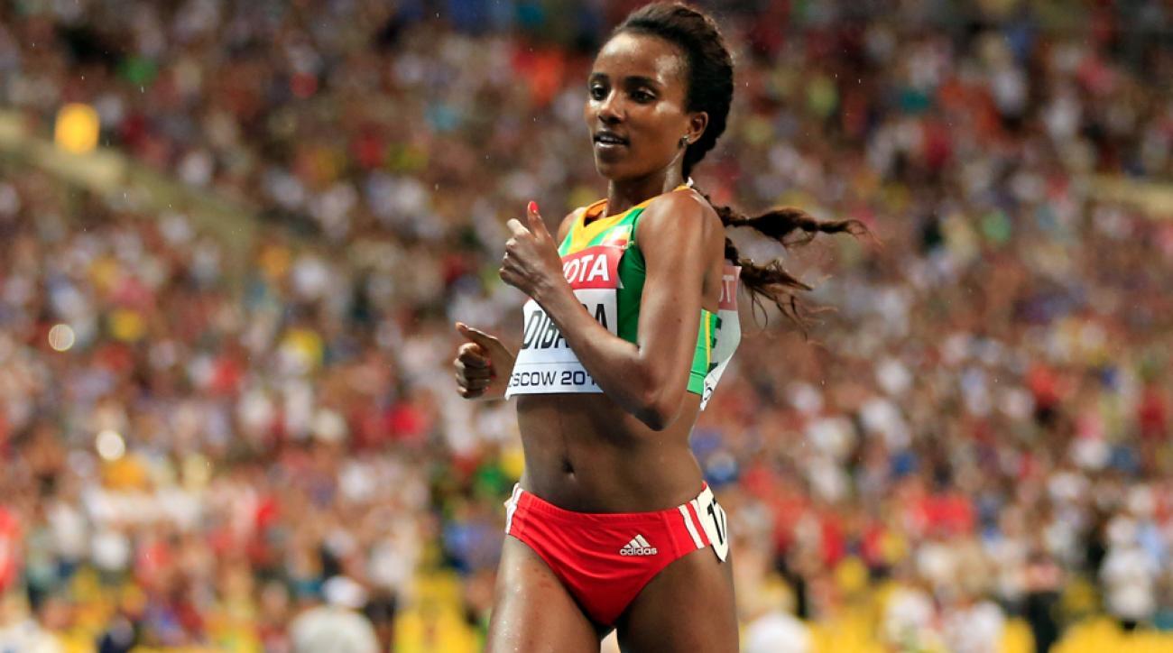tirunesh dibaba olympics rio 2016 manchester return baby