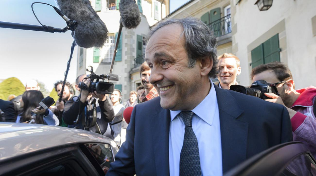Michel Platini has his FIFA ban appeal heard at the Court of Arbitration for Sport