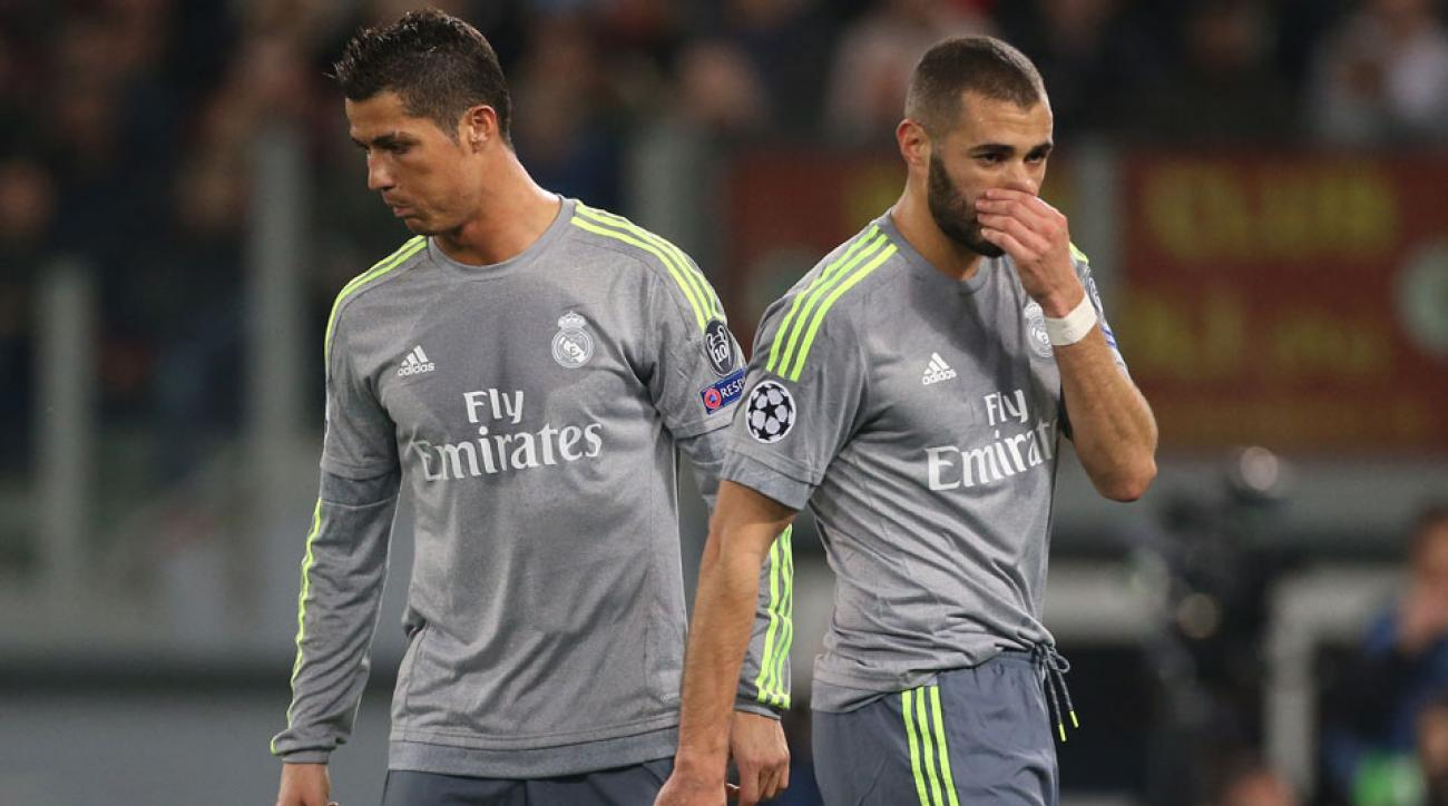 Cristiano Ronaldo, Karim Benzema are injury doubts for Real Madrid against Manchester City in Champions League
