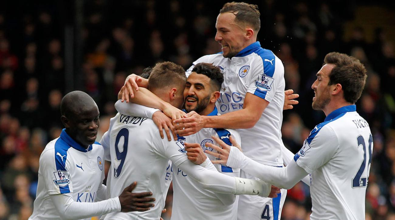 Leicester City plays Manchester United with a chance to win the Premier League