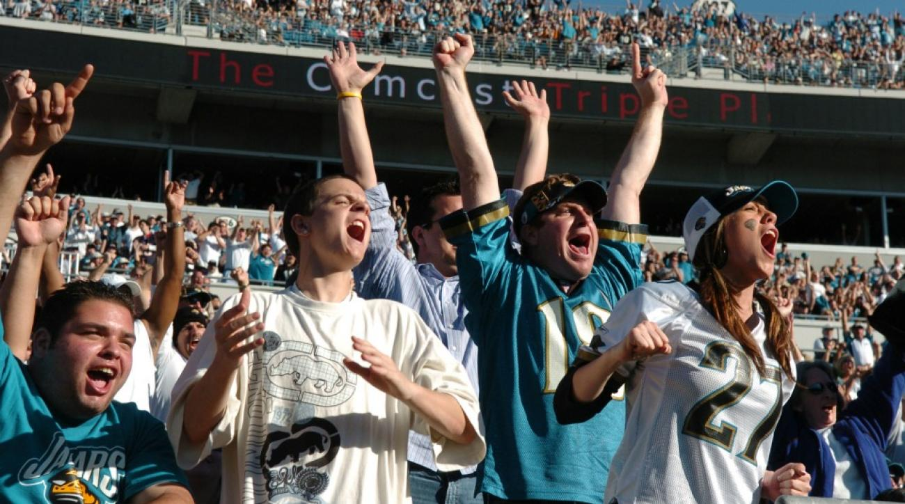 Jacksonville Jaguars fan steals the show in TV interview