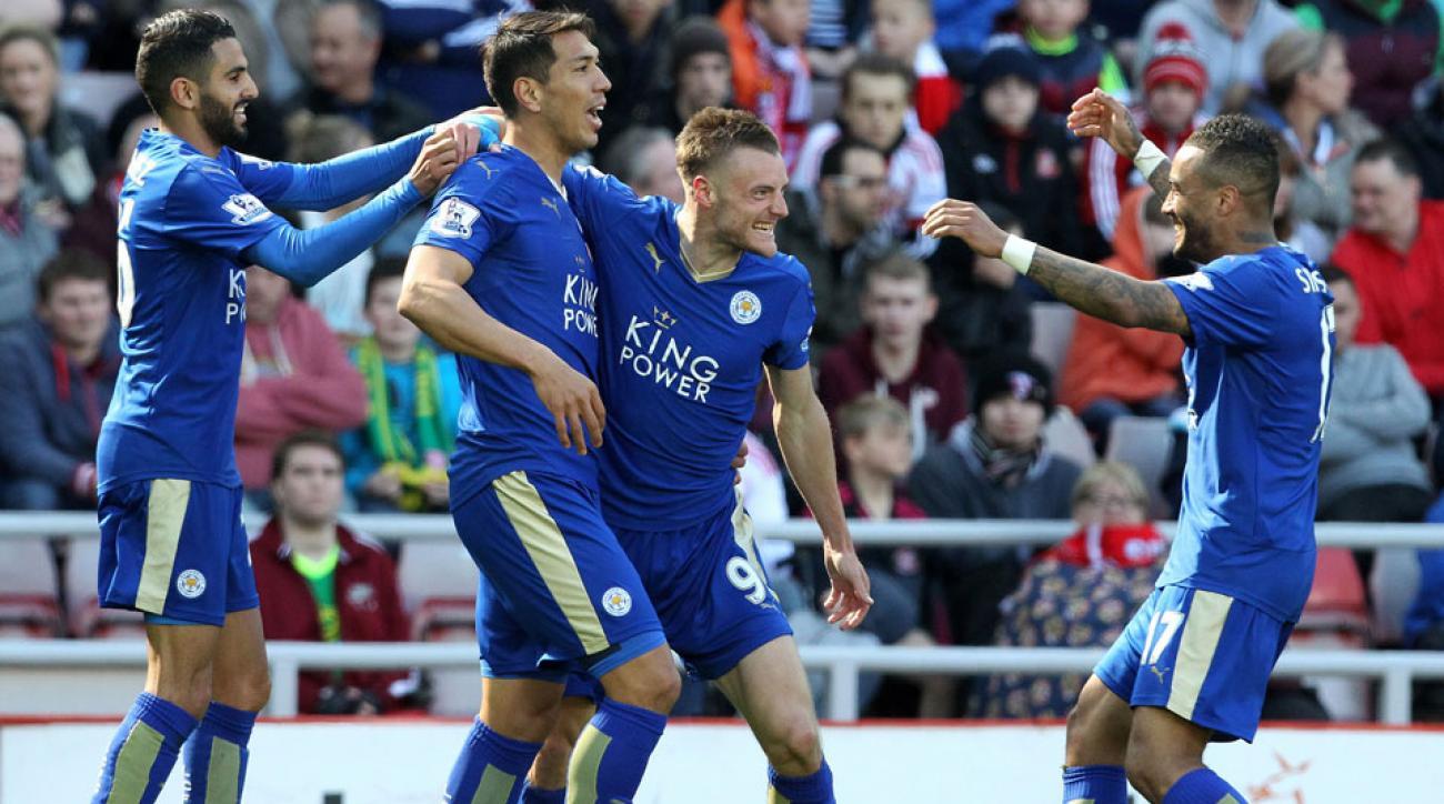 Leicester City wins the 2015-16 Premier League championship