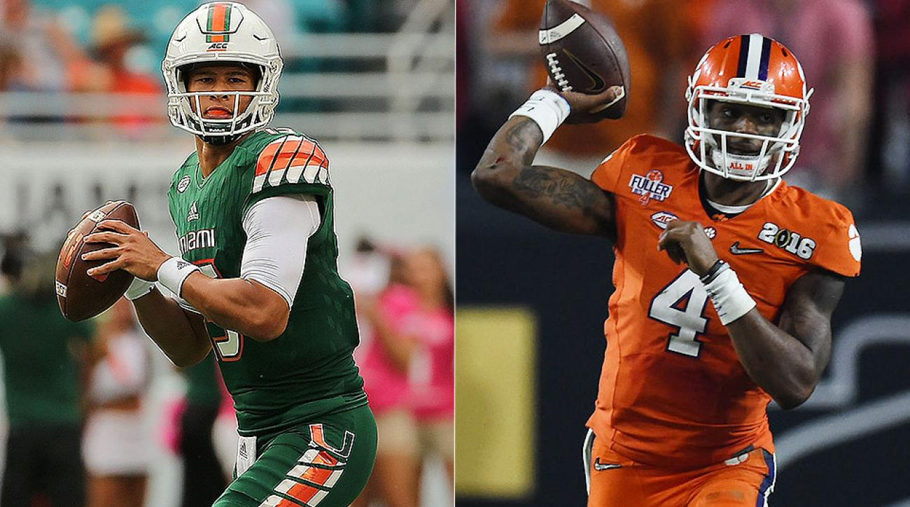 NFL mock draft 2017: Top prospects Deshaun Watson, Brad Kaaya top first round