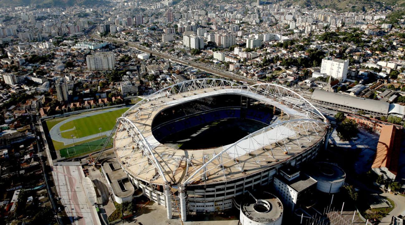 rio 2016 olympics track stadium photos
