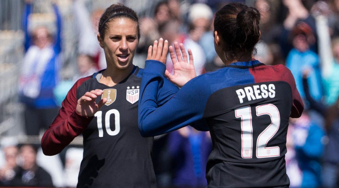 Carli Lloyd joins Grant Wahl for a Facebook Live interview