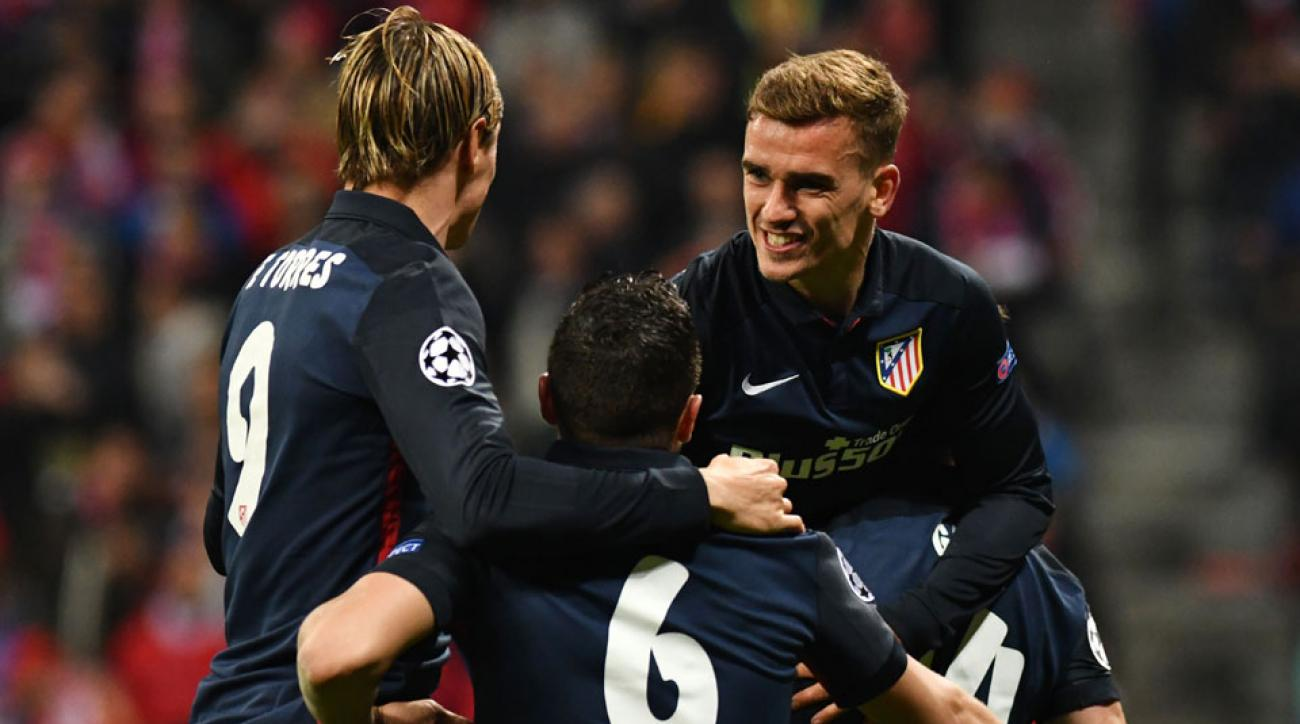Antoine Griezmann scores a clutch goal for Atletico Madrid vs. Bayern Munich
