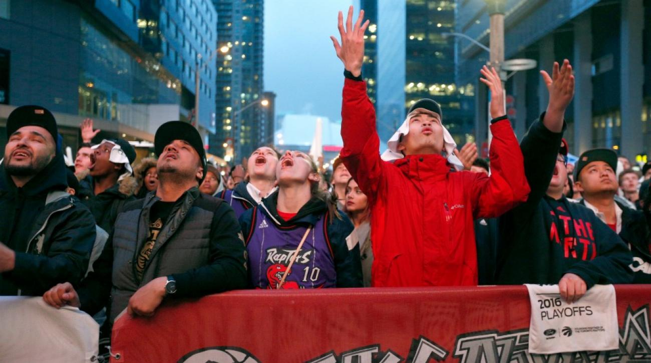 Toronto Raptors fans made so much noise someone thought a gun went off