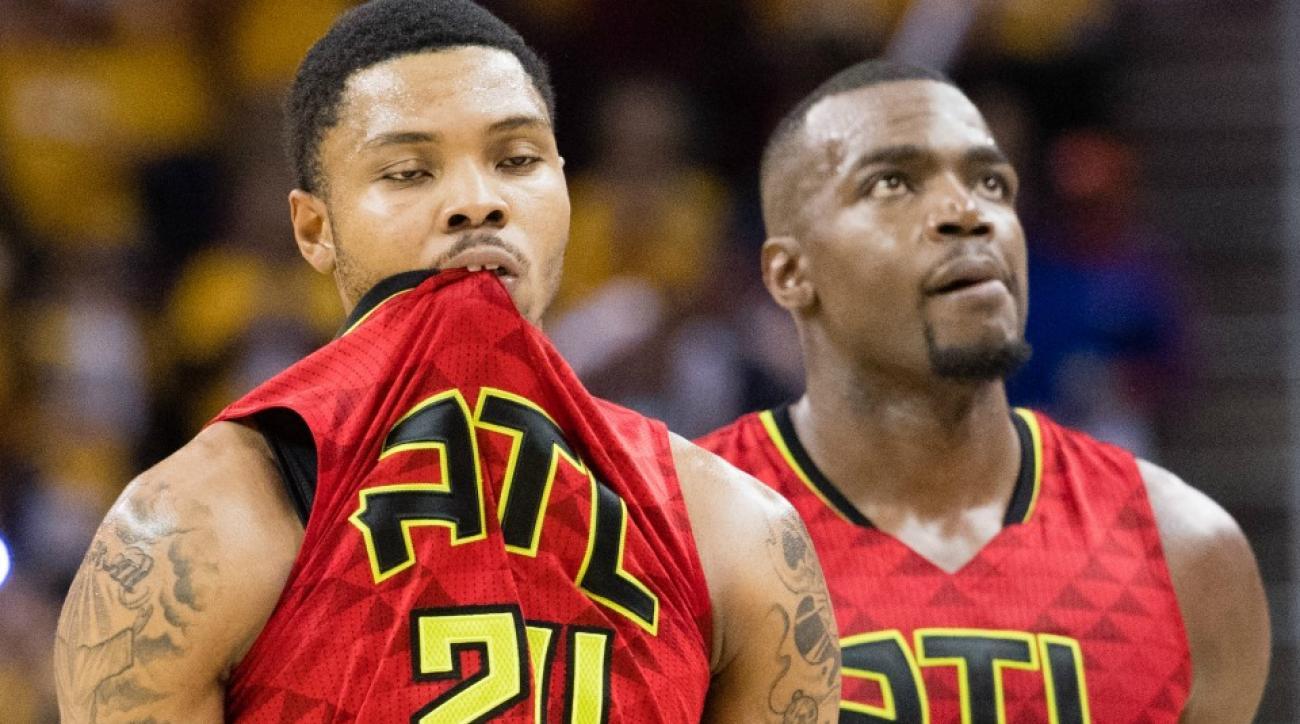 Cavaliers-Hawks put Kent Bazemore to sleep