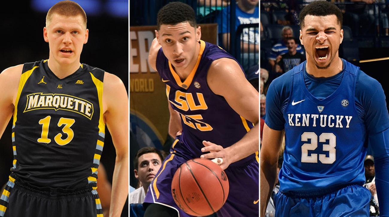 NBA Mock Draft: Henry Ellenson, Ben Simmons, Jamal Murray
