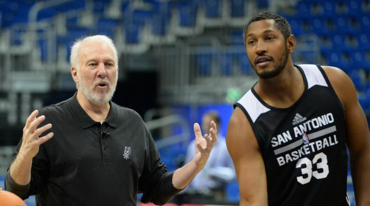 Spurs' Boris Diaw gets more minutes to help him lose weight