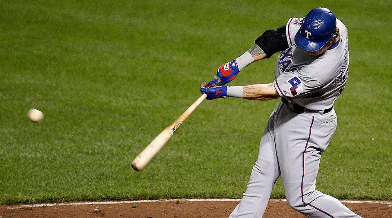 Texas Rangers Josh Hamilton