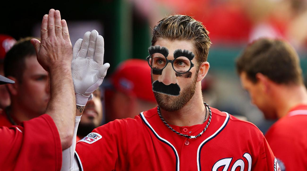 bryce harper fan imposter nationals tigers video