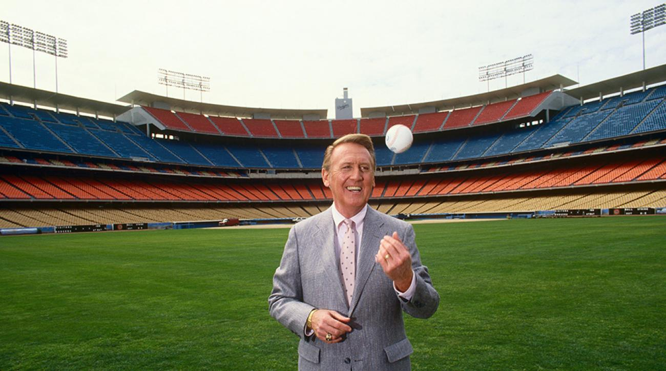 dodgers vin scully best calls video audio