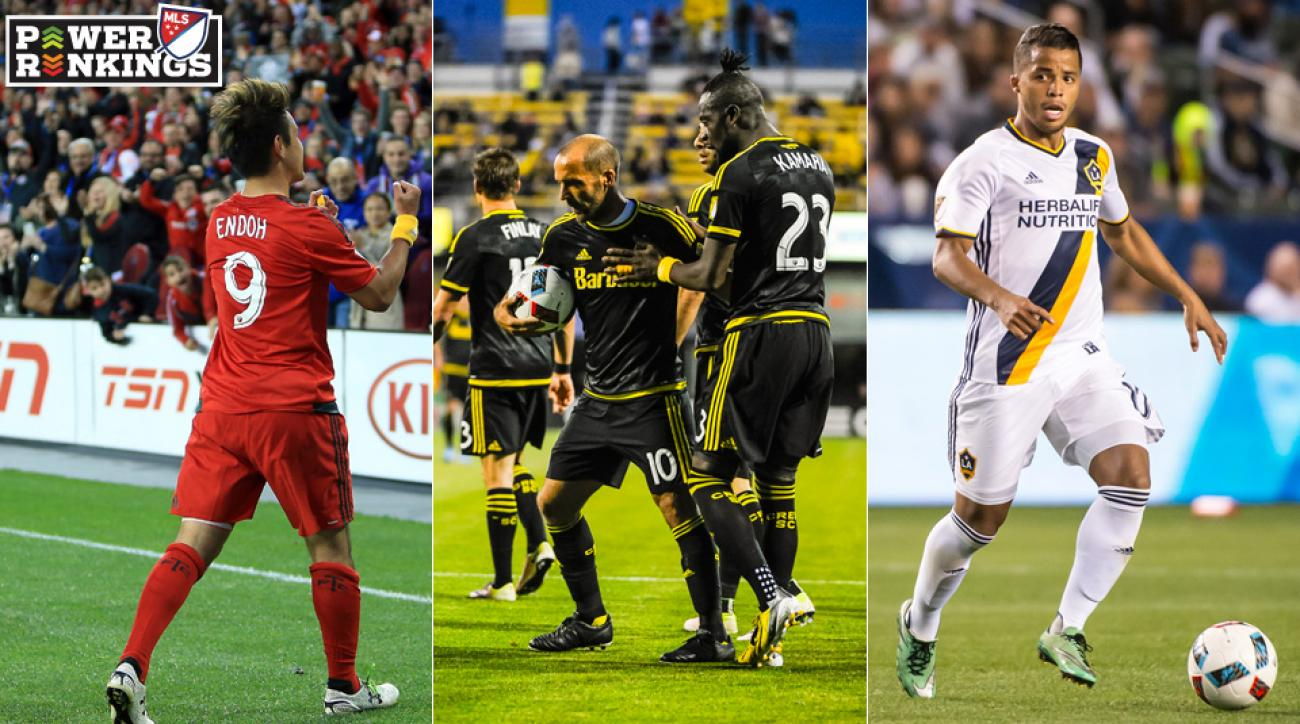 Kei Kamara, Federico Higuain are at odds in Columbus's collapse against Montreal