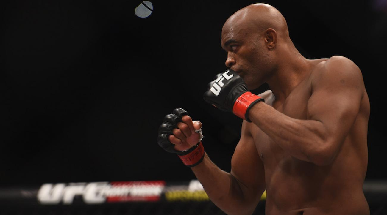 anderson silva out ufc 198