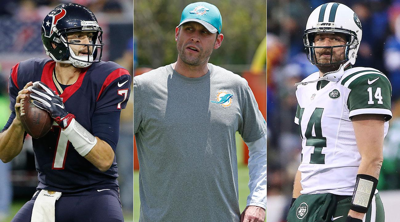 Brian Hoyer as a Bear makes sense, Adam Gase is easing up on his newbies, and Ryan Fitzpatrick may have to bite the bullet.