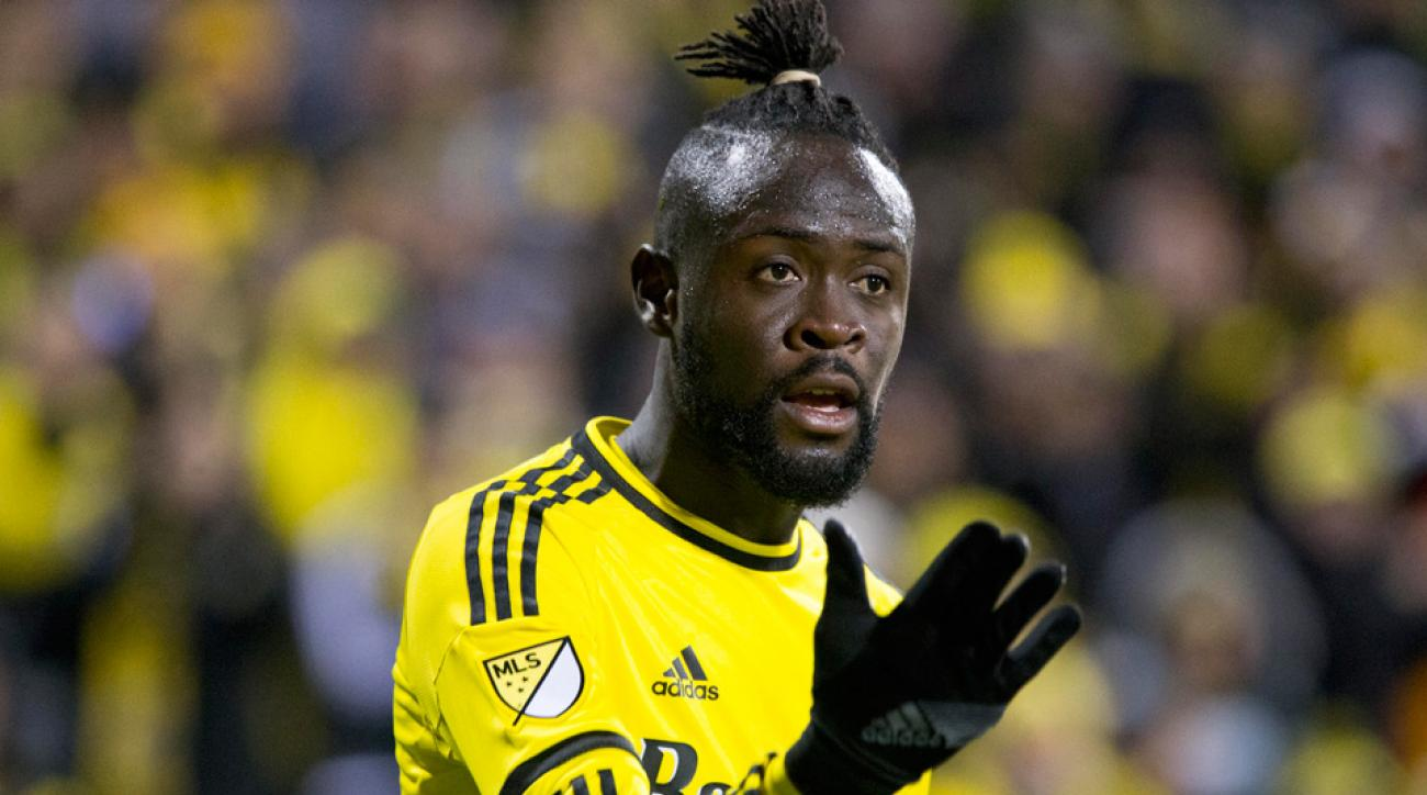 Columbus Crew star striker Kei Kamara is on the trading block