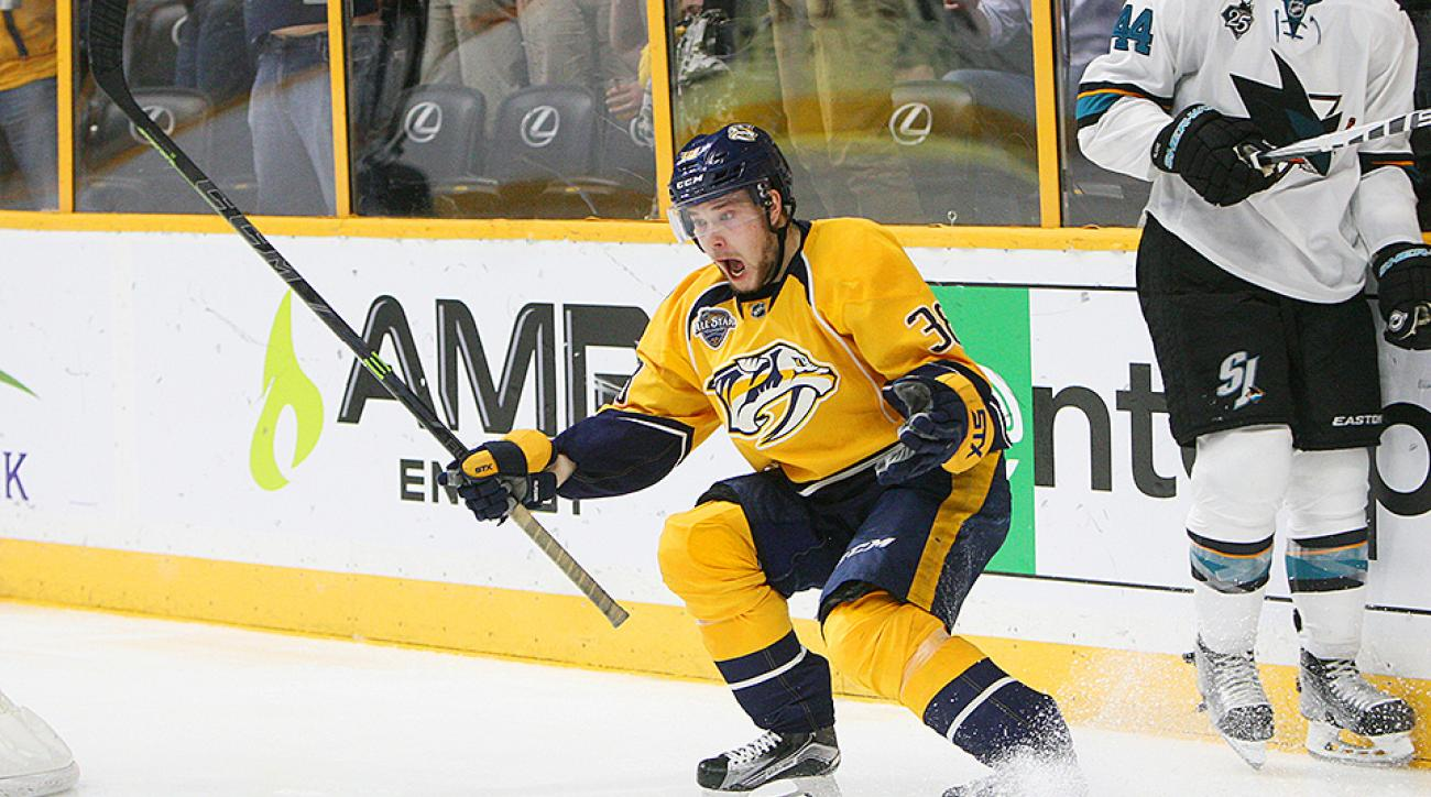 NHL Playoffs 2016: Predators beat Sharks in Game 6 on Viktor Arvidsson's overtime goal