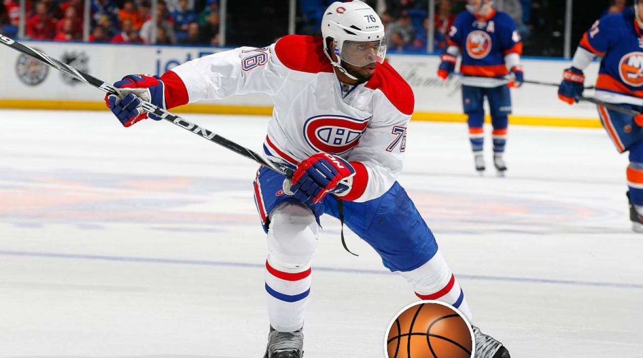 Montreal Canadiens' P.K. Subban charity basketball game