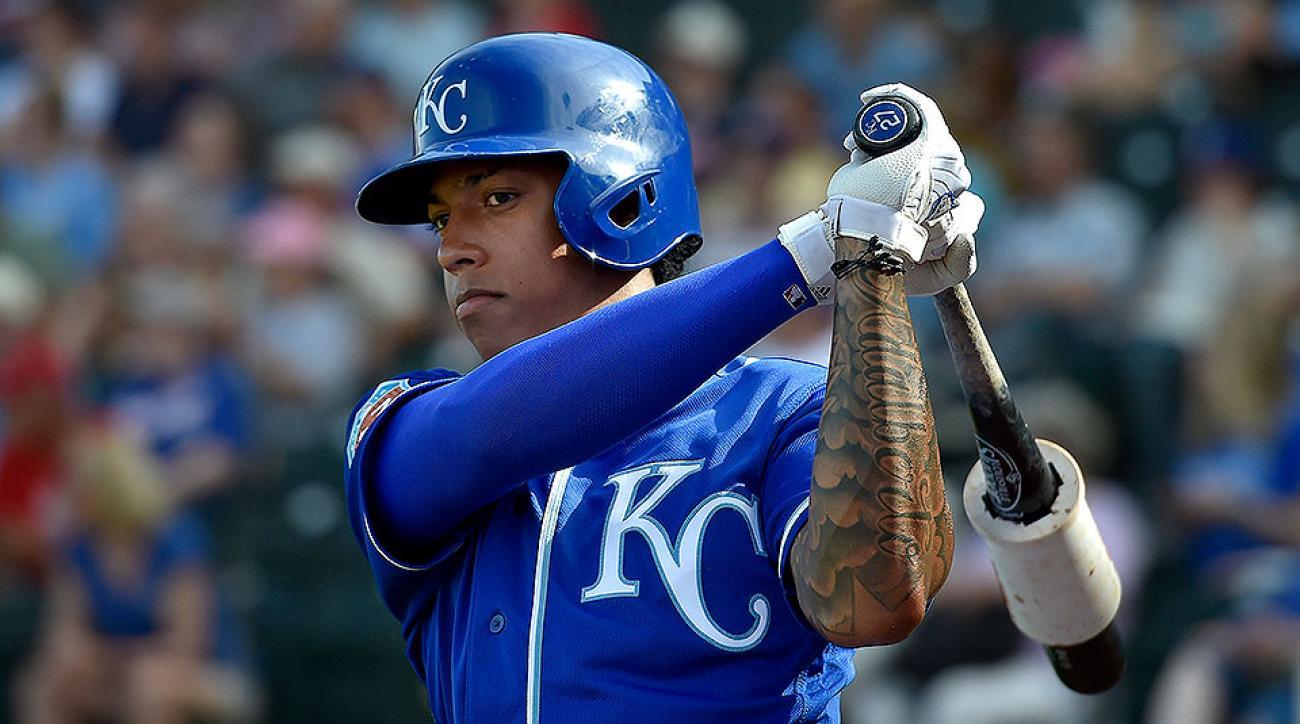 Kansas City Royals Raul Mondesi Jr
