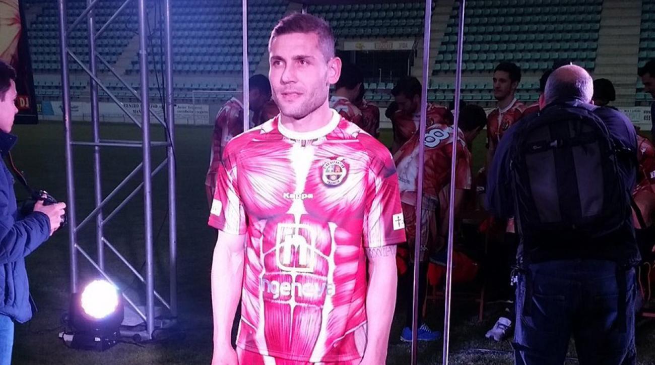 weird soccer jerseys palencia