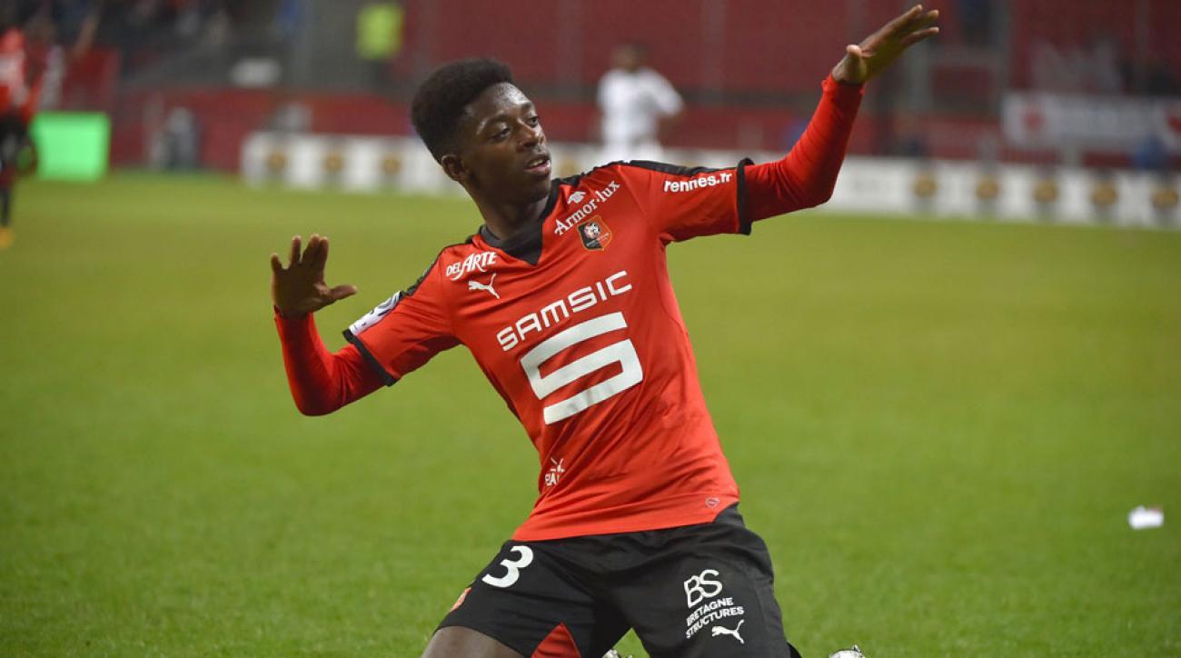 Ousmane Dembele has signed with Borussia Dortmund