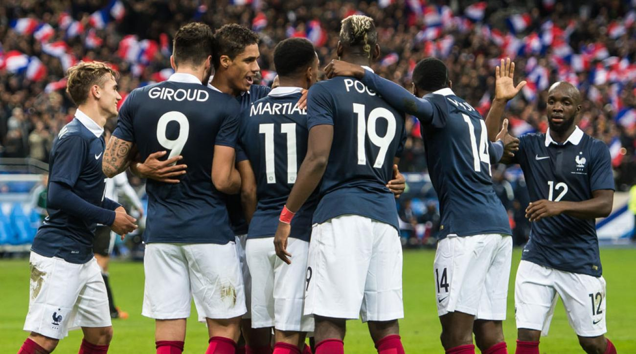 France names its roster for Euro 2016
