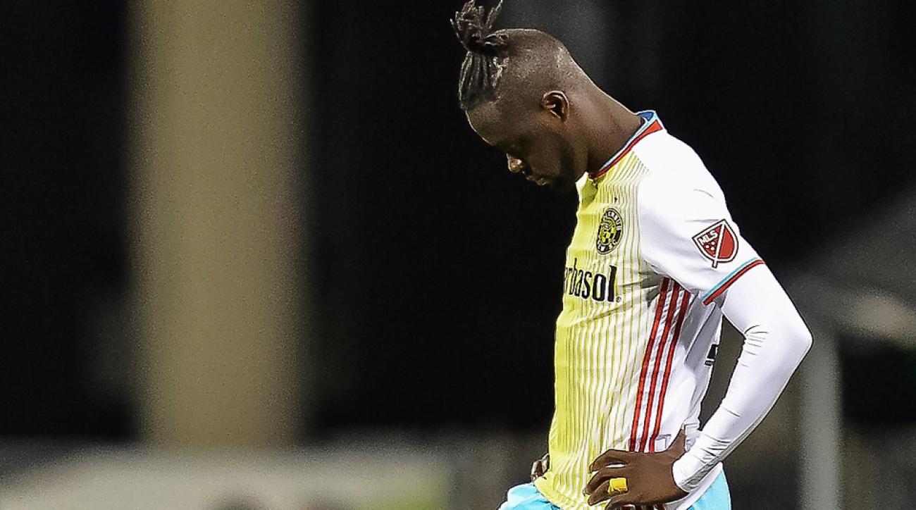 Columbus Crew star striker Kei Kamara is on the trading block