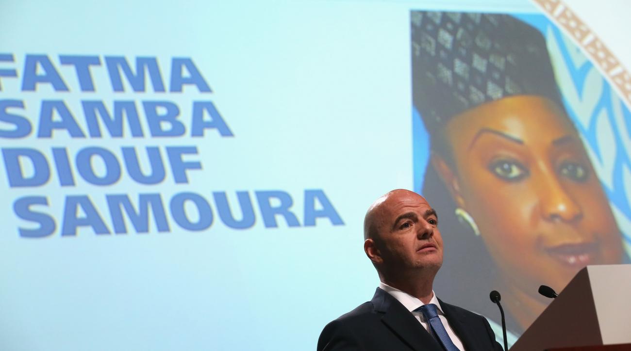 fatma samba diouf samoura fifa secretary general