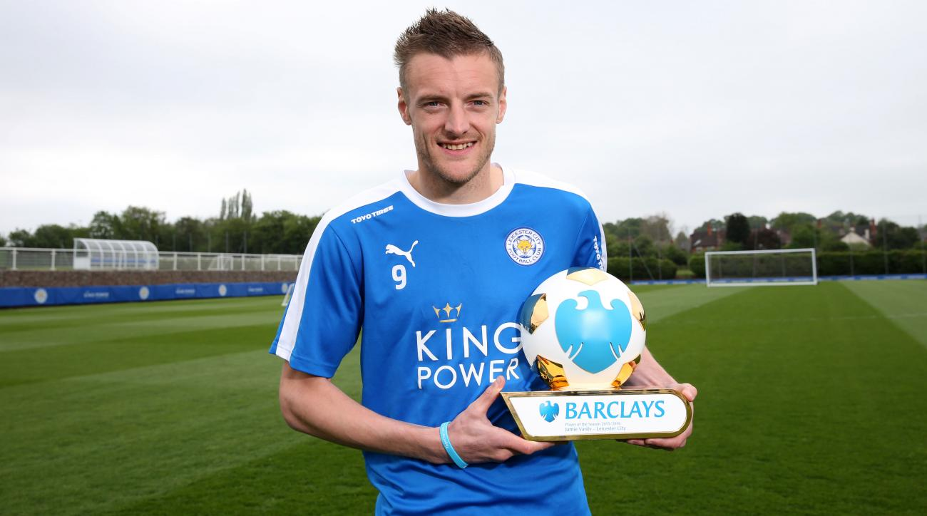 jamie vardy leicester city premier player year