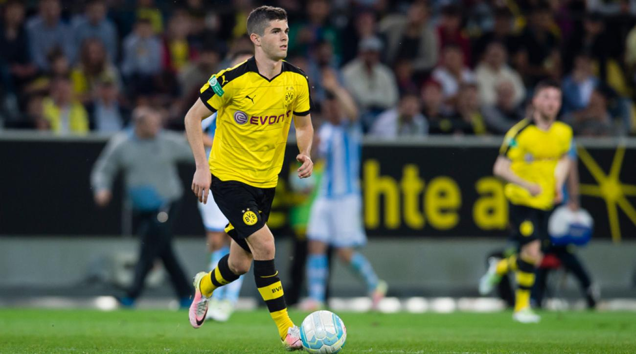 Borussia Dortmund and USA rising star Christian Pulisic