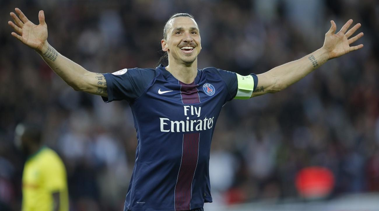Video: Zlatan Ibrahimovic scores twice in last game with PSG | SI.com