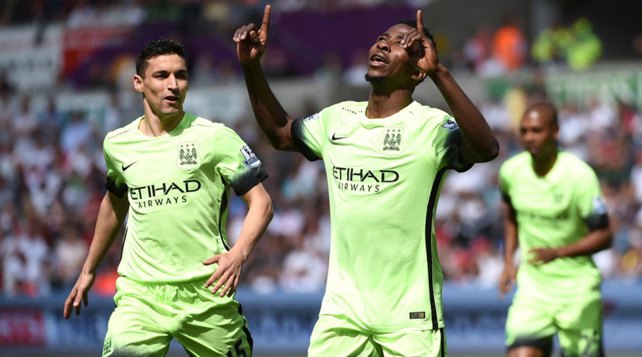 Manchester City ties Swansea in its season finale