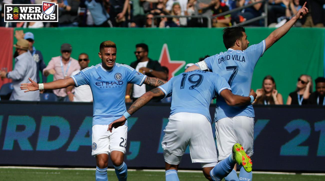 NYCFC netted an important win at the Portland Timbers