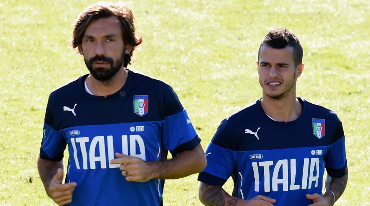Andrea Pirlo and Sebastian Giovinco will miss Euro 2016