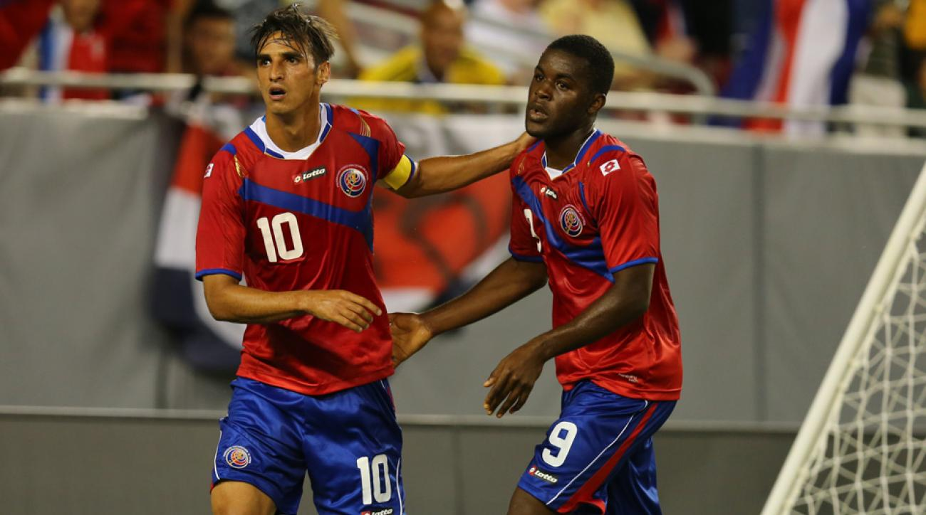 Joel Campbell, Bryan Ruiz will lead Costa Rica at Copa America Centenario