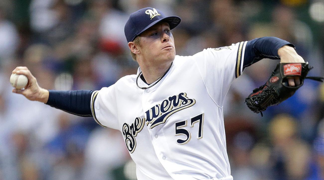 Milwaukee Brewers Chase Anderson